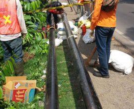 Kerjasama Pipa Jaringan Dinas & Distribusi Persero PT. Delima Anugerah Suplindo